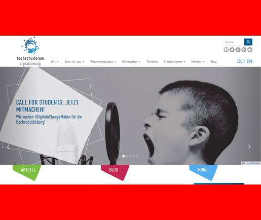 Hochschulforum Digitalisierung – HFD 2020