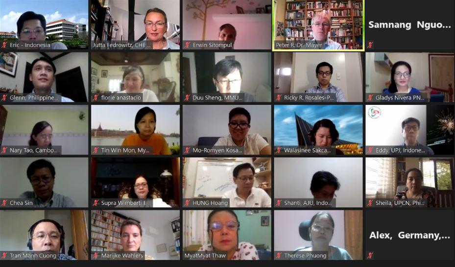 Start des IDC 2020 im Online-Meeting