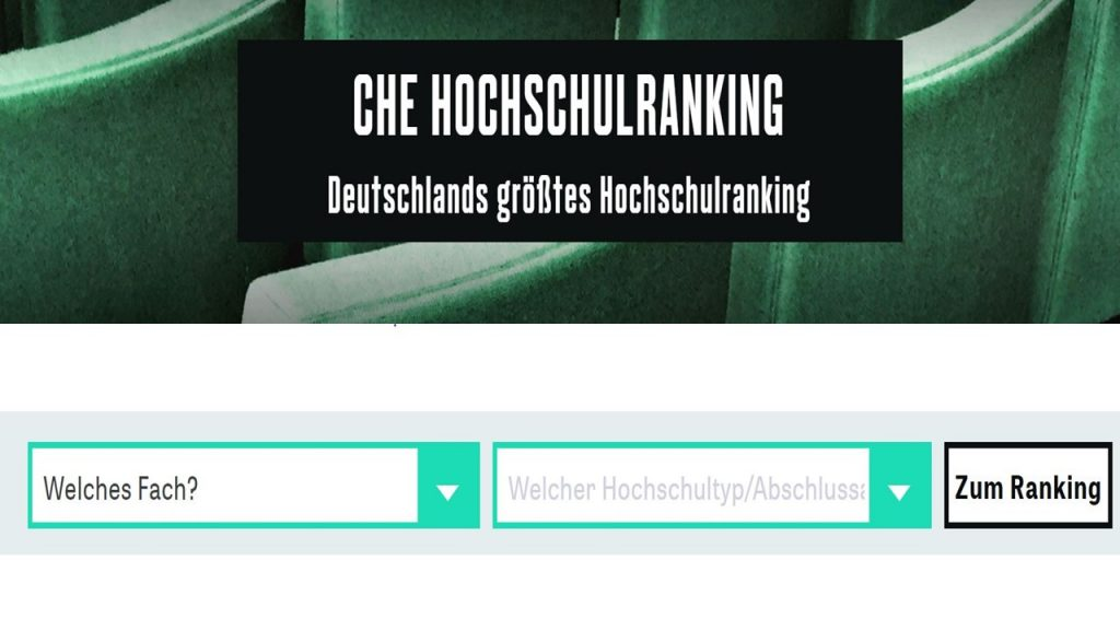 Das CHE Hochschulranking auf ZEIT.de